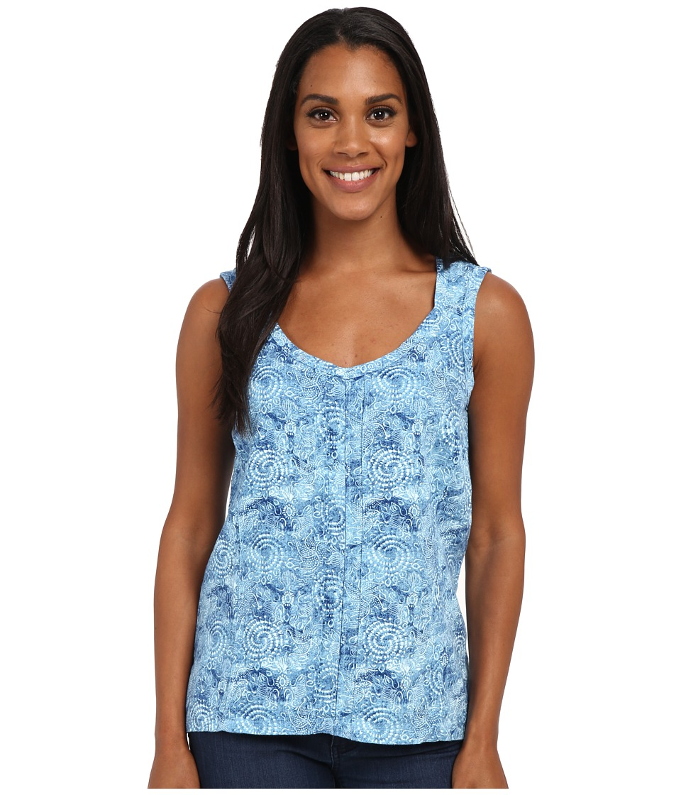 Royal Robbins - Panorama Printed Tank Top (Marine) Women's Sleeveless
