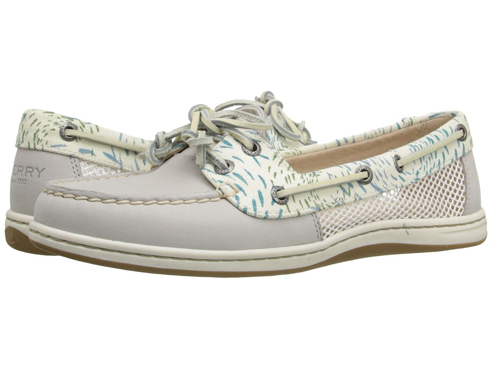 Sperry - Firefish Fish Circles (Light Grey/Blue) Women's Lace up casual Shoes