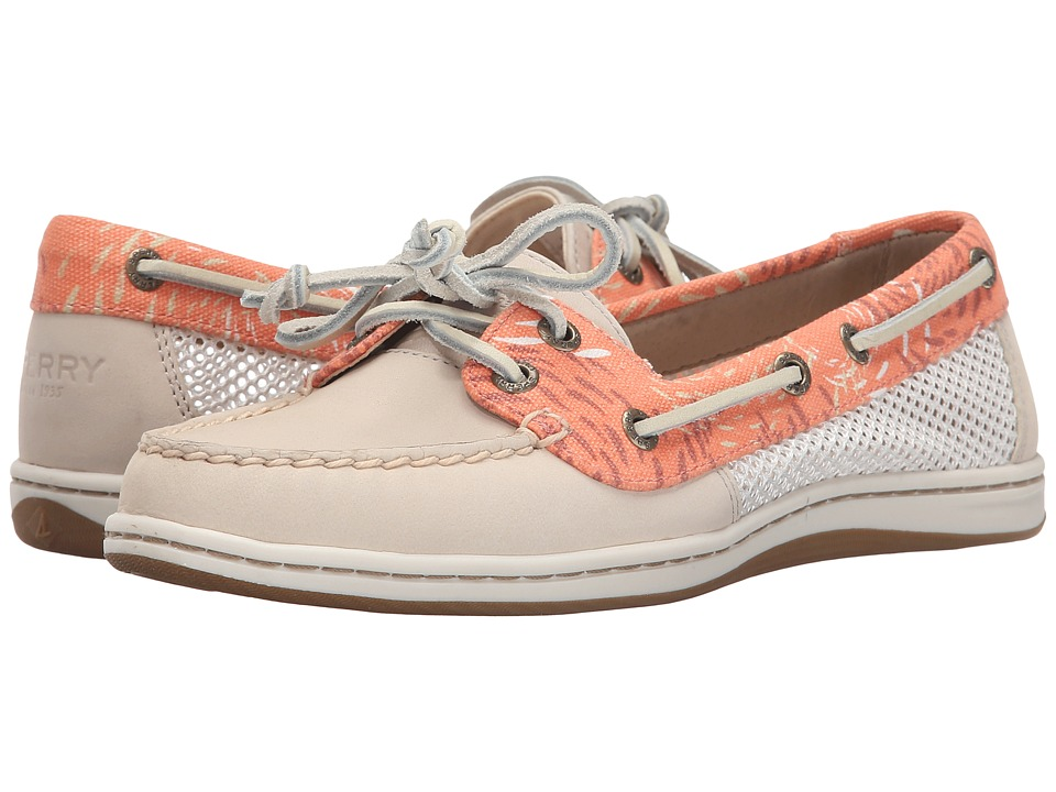 Sperry Top-Sider - Firefish Fish Circles (Linen/Coral) Women