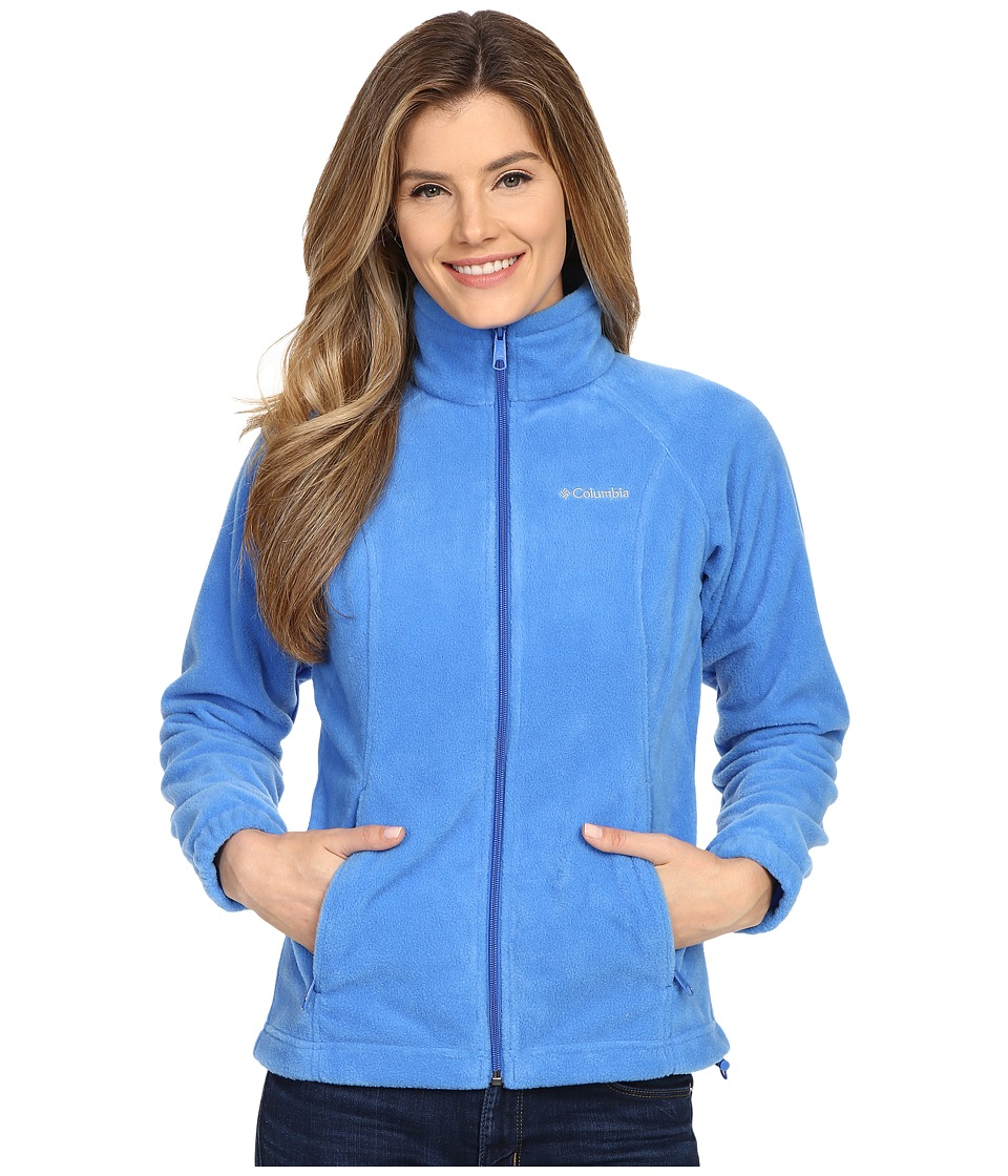 Columbia - Benton Springs Full Zip (Stormy Blue) Women's Jacket