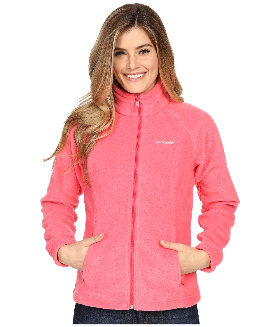 Columbia - Benton Springs Full Zip (Bright Geranium) Women's Jacket