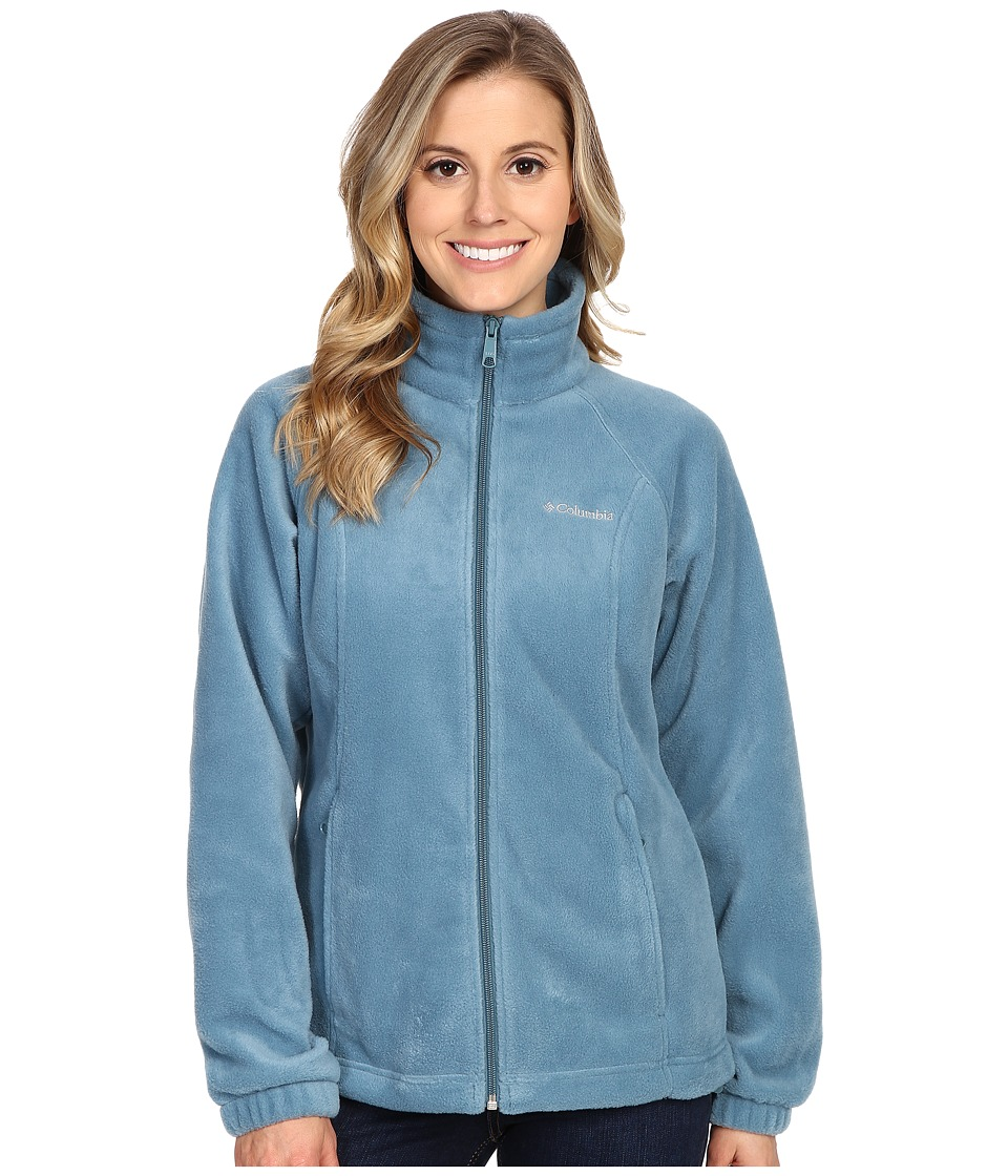 Columbia - Benton Springs Full Zip (Cloudburst) Women's Jacket