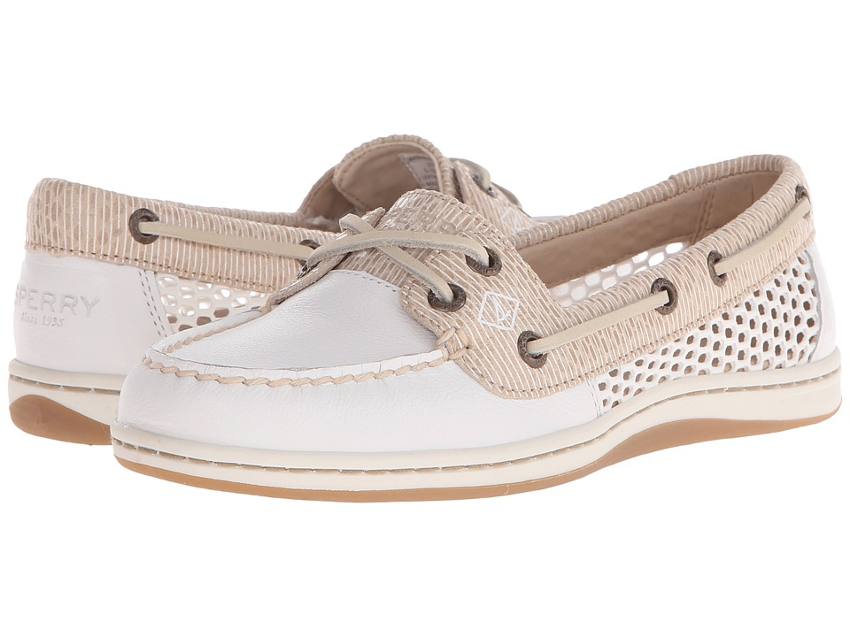 Sperry Top-Sider - Firefish Snake Stripe Mesh (Light Beige) Women's Lace up casual Shoes