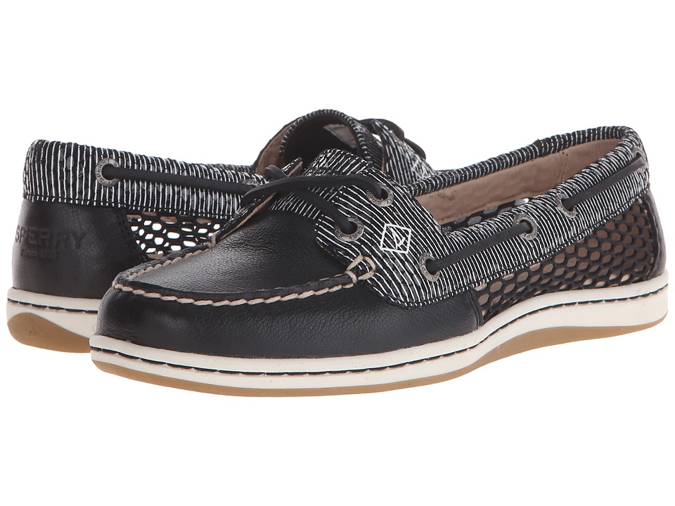 Sperry Top-Sider Firefish Snake Stripe Mesh (Black) Women