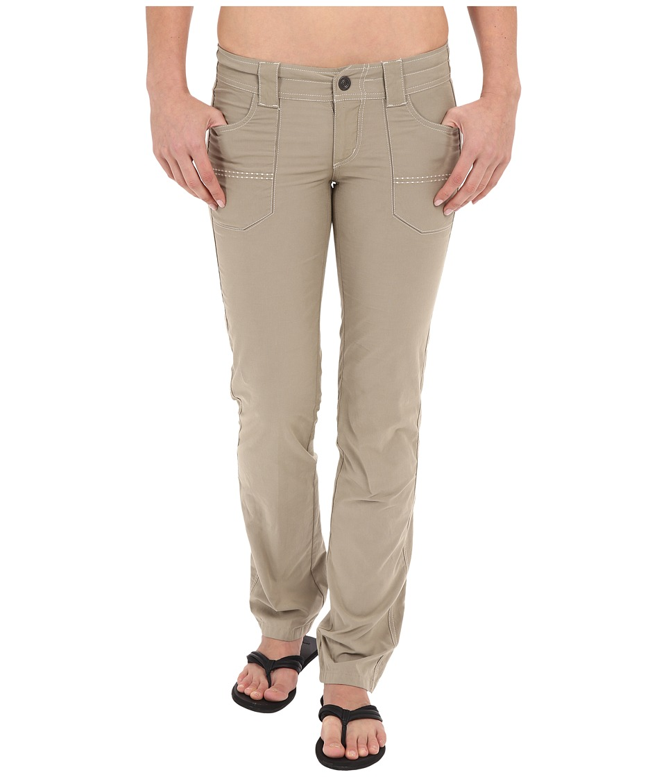 KUHL - Kendra Straight Fit Pants (Khaki) Women's Casual Pants