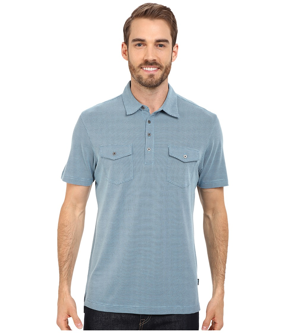 Kuhl - Icelandr S/S Shirt (Air Blue) Men's Short Sleeve Pullover