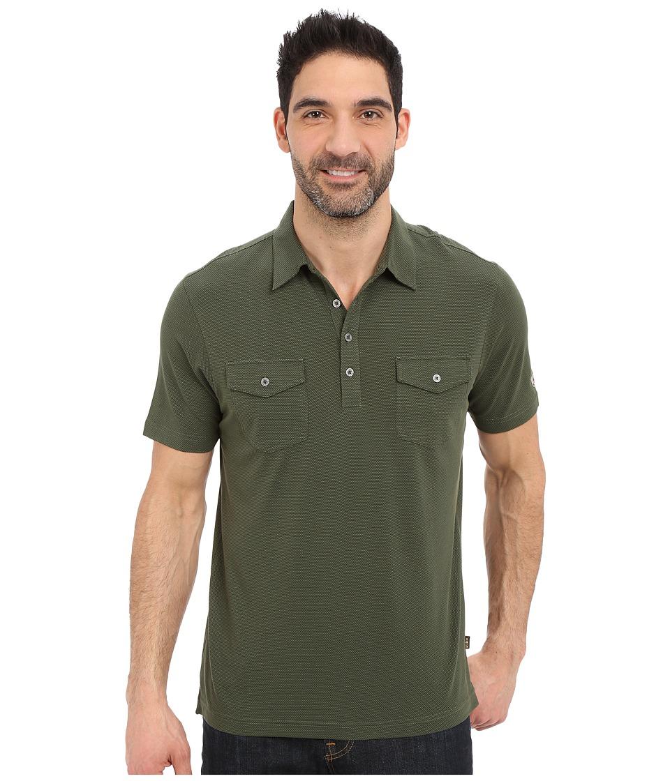 Kuhl - Icelandr S/S Shirt (Forest) Men's Short Sleeve Pullover