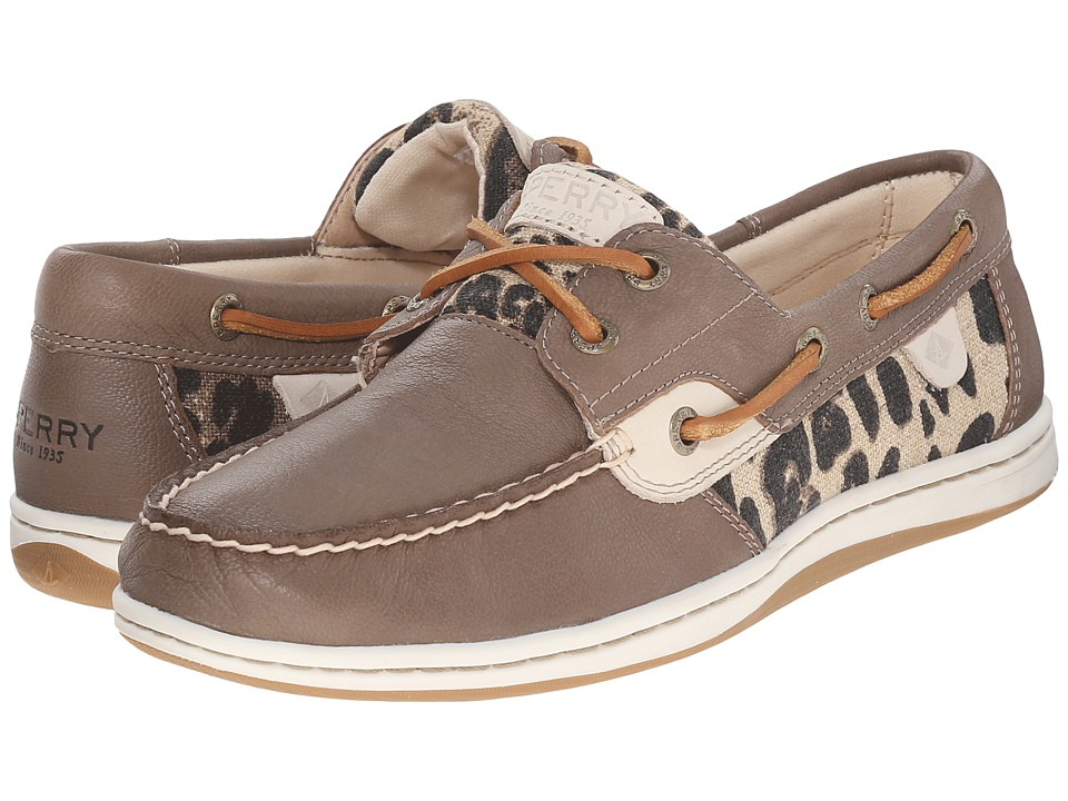 Sperry - Koifish Animal (Black Leopard) Women's Lace up casual Shoes