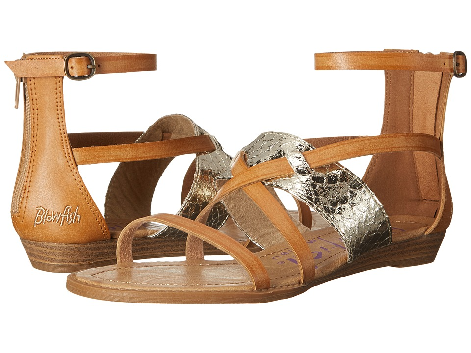 Blowfish - Badot (Desert Sand Pisa/Gold) Women's Sandals