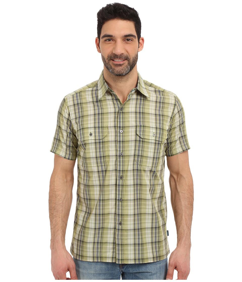 Kuhl - Response Short Sleeve Shirt (Citrus Green) Men's Short Sleeve Button Up