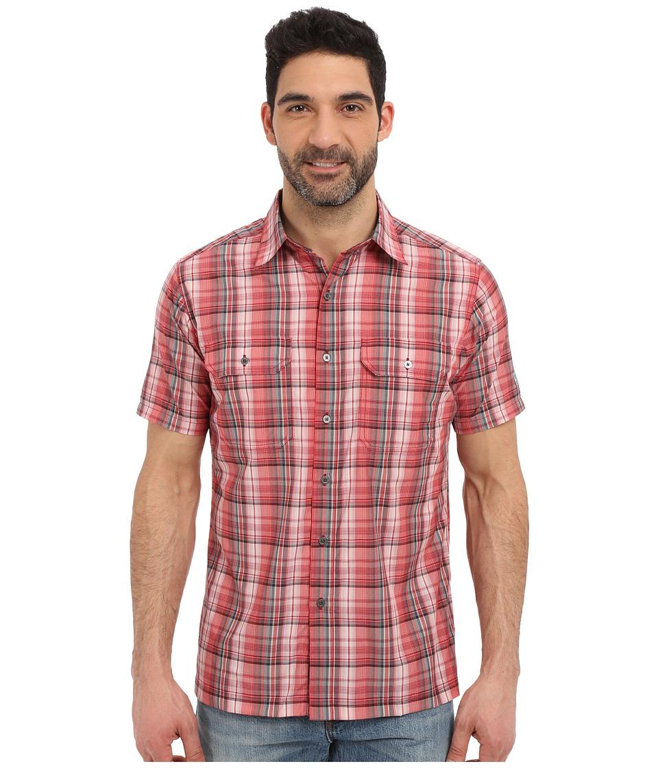 KUHL - Response Short Sleeve Shirt (Chili Pepper) Men's Short Sleeve Button Up