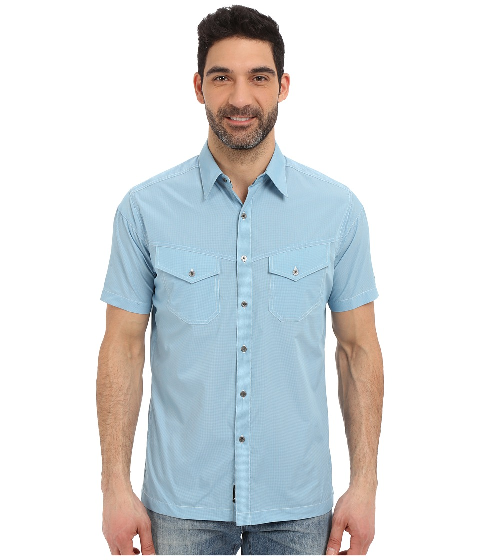 Kuhl - Stealth (Air Blue) Men's Short Sleeve Button Up