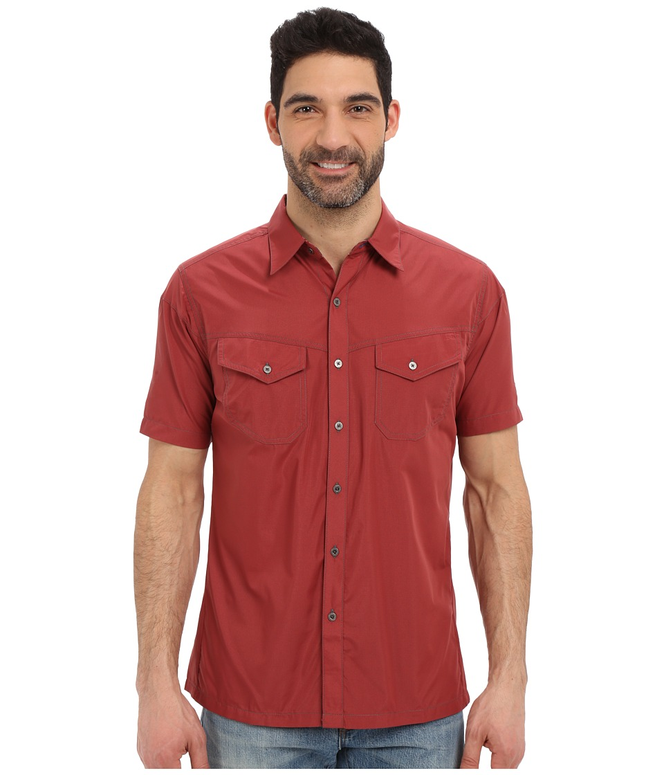 KUHL - Stealth (Sun Dried Tomato) Men's Short Sleeve Button Up