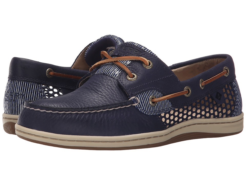Sperry - Koifish Open Mesh (Navy) Women's Lace up casual Shoes