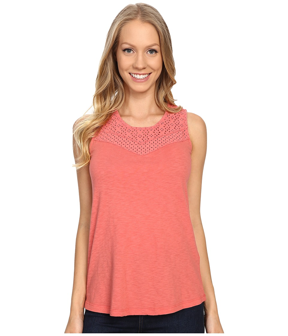 Aventura Clothing - Pilar Tank Top (Spiced Coral) Women's Sleeveless