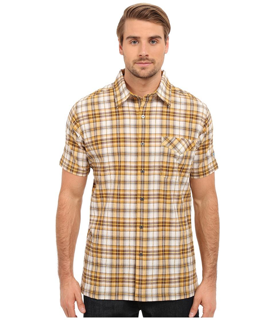 KUHL - Stallion (Sunset Gold) Men's Short Sleeve Button Up