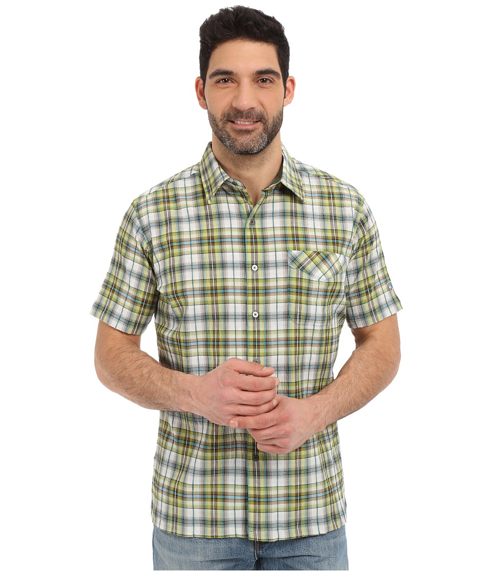 KUHL - Stallion (Skuba Lime) Men's Short Sleeve Button Up