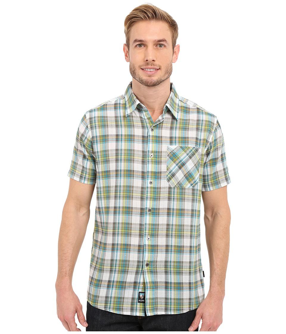 Kuhl - Tropik S/S Shirt (Skuba Lime) Men's Short Sleeve Button Up