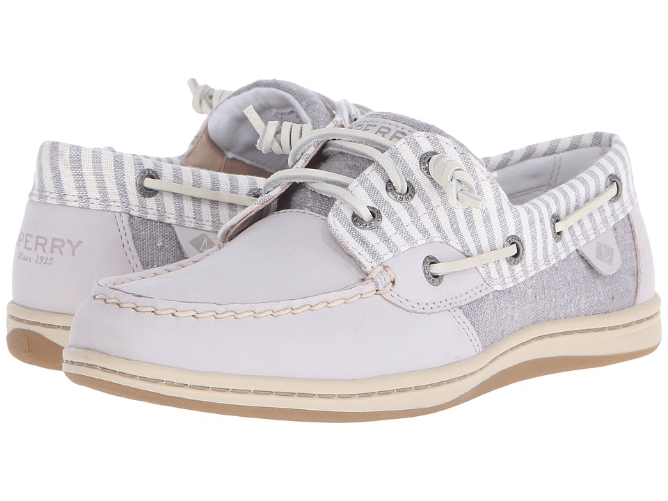 Sperry Top-Sider - Songfish Stripe (Light Grery) Women's Lace up casual Shoes