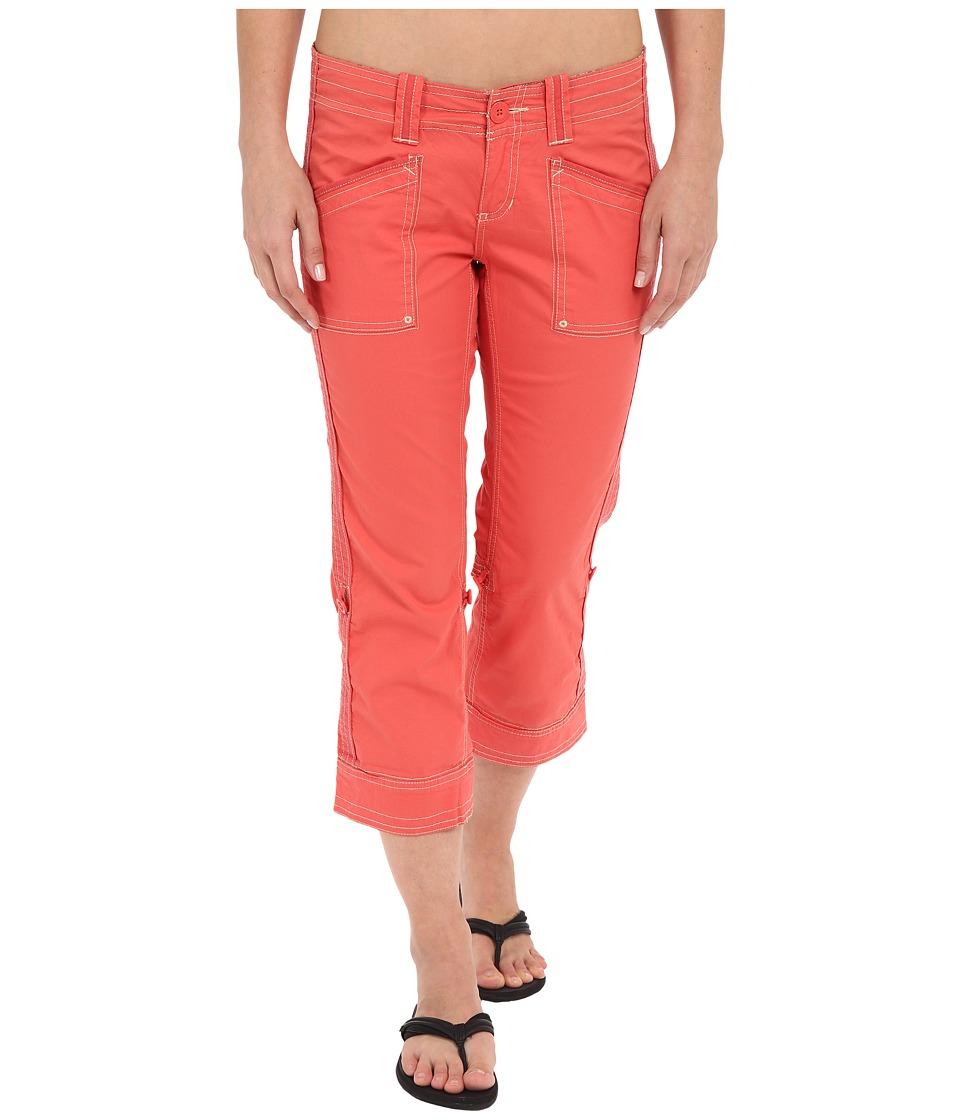 Aventura Clothing - Arden Standard Rise Capri (Spiced Coral) Women's Capri