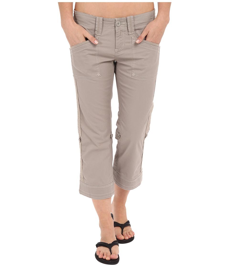 Aventura Clothing Arden Standard Rise Capri (Rock Ridge) Women