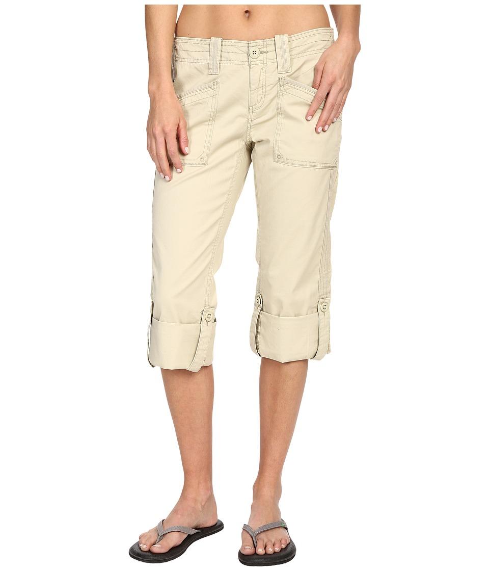 Aventura Clothing - Arden Standard Rise Capri (Beach Sand) Women's Capri