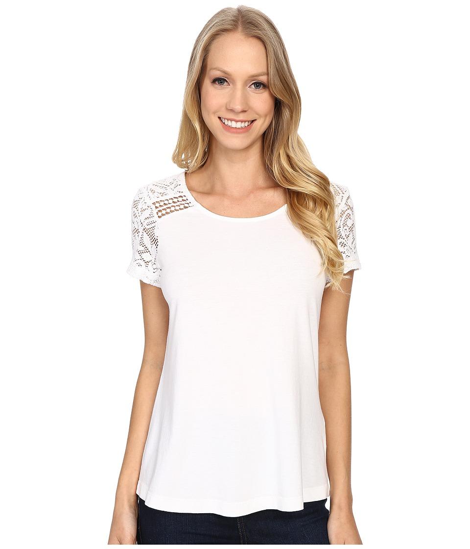 Aventura Clothing - Wyatt Short Sleeve (White) Women's Short Sleeve Pullover