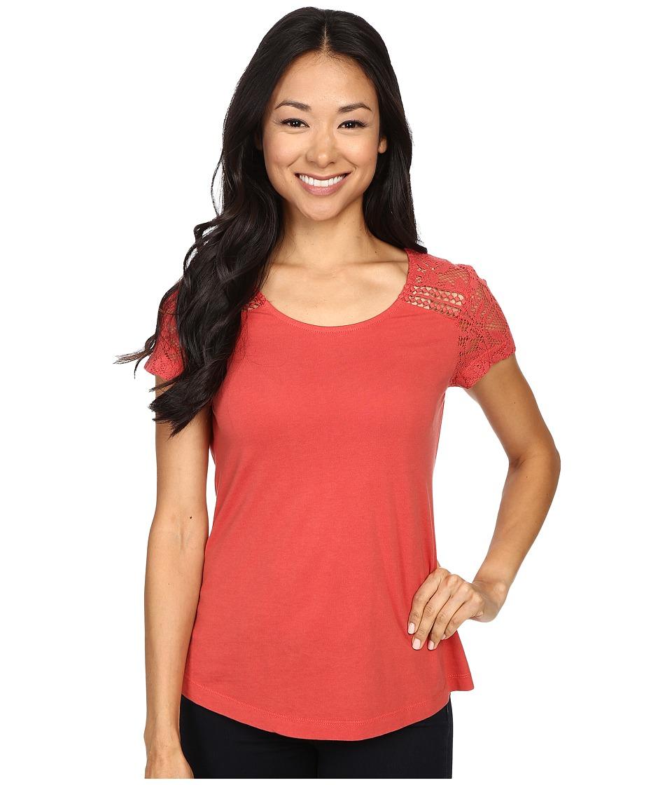 Aventura Clothing - Wyatt Short Sleeve (Chipotle) Women's Short Sleeve Pullover