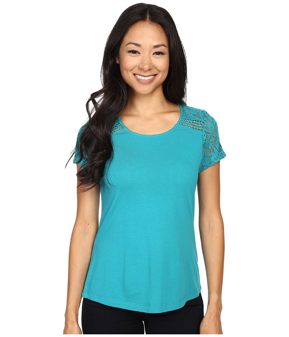 Aventura Clothing - Wyatt Short Sleeve (Fanfare) Women's Short Sleeve Pullover