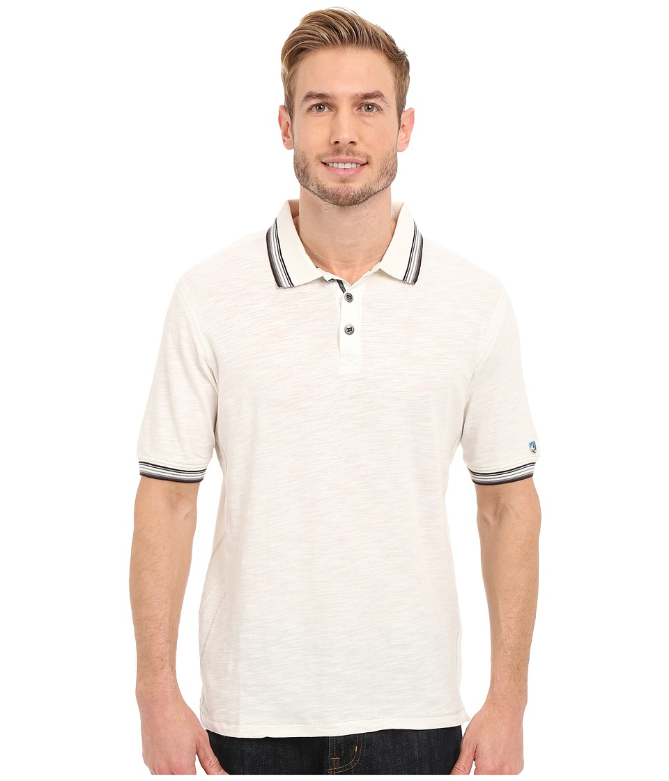 KUHL - Katalysttm Short Sleeve Shirt (White) Men's Short Sleeve Pullover