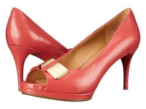 Nine West - Cora (Pink/Orange Leather) Women