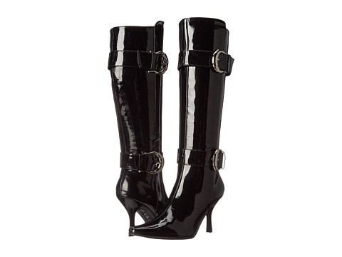 CL By Laundry - Z Shannon (Black Patent) Women's Boots