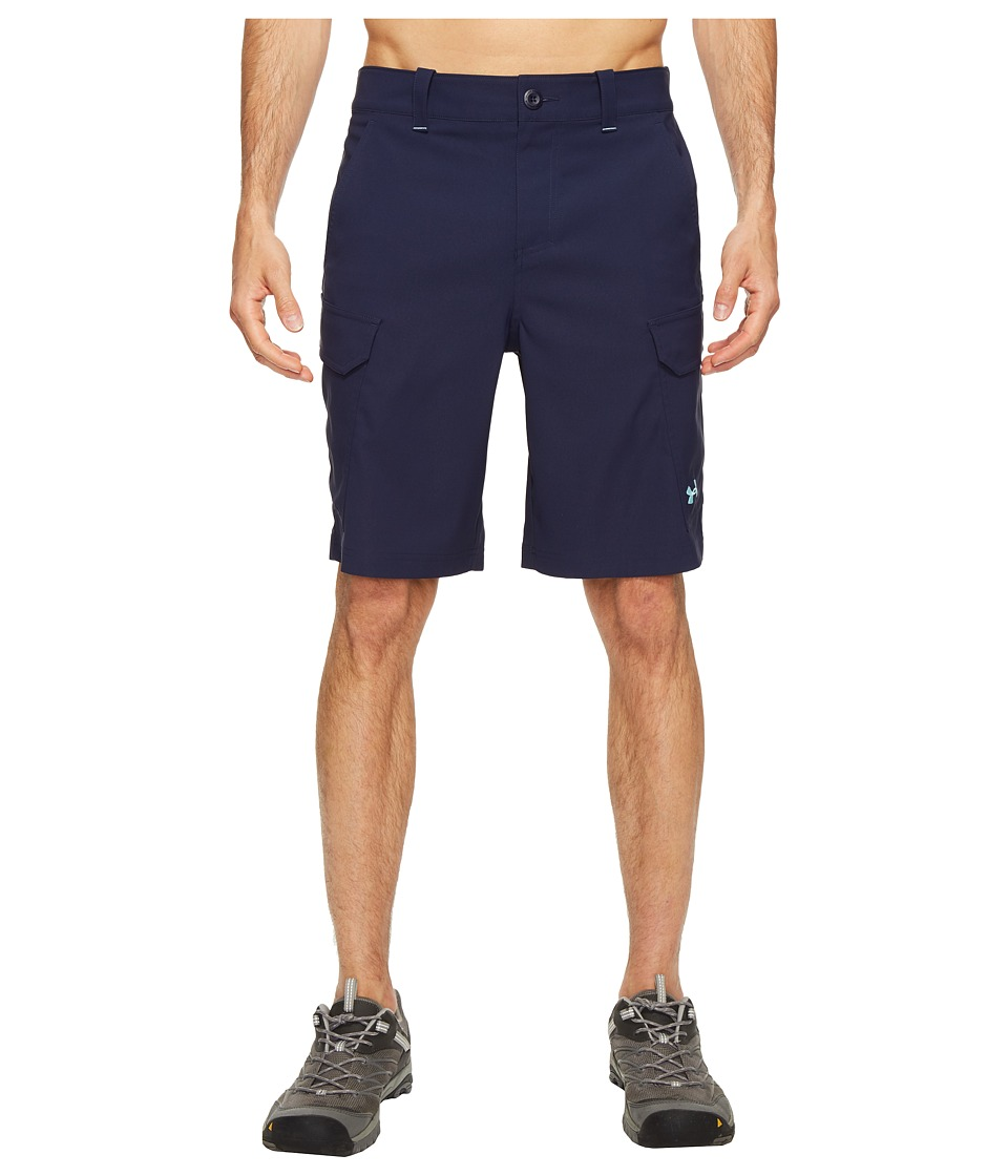 Under Armour - UA Fish Hunter Cargo Short (Midnight Navy) Men's Shorts