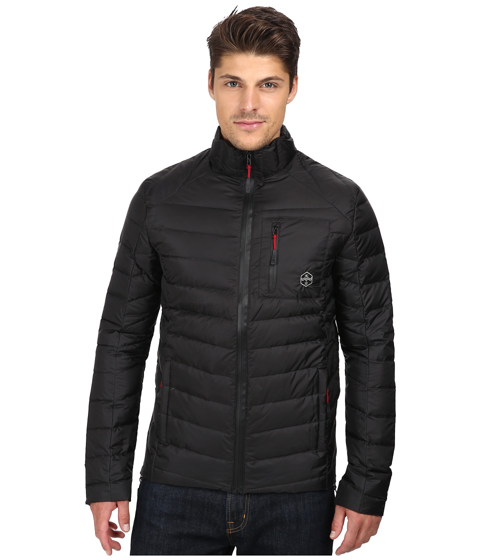 Khombu - Lightweight Puff (Black) Men's Coat