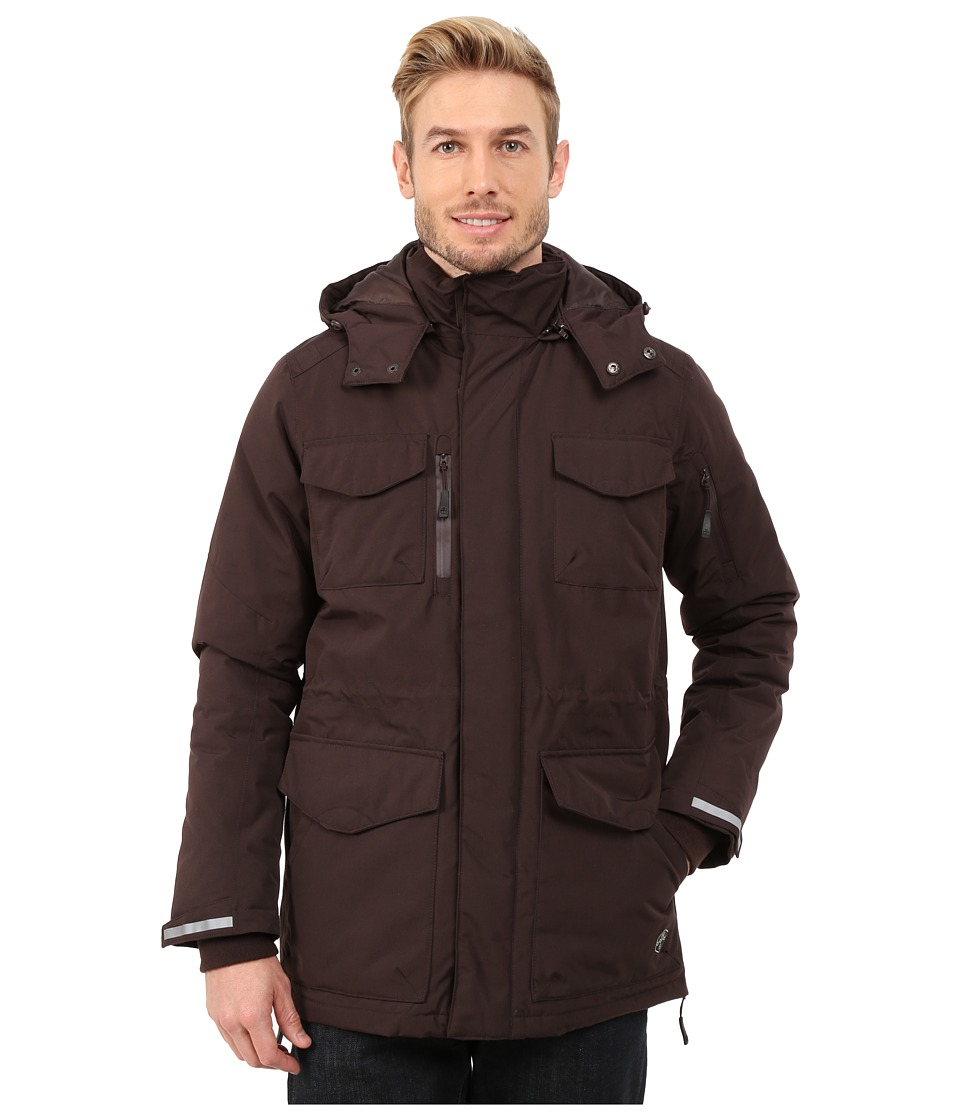 Khombu - Parka Jacket (Black Coffee) Men's Coat