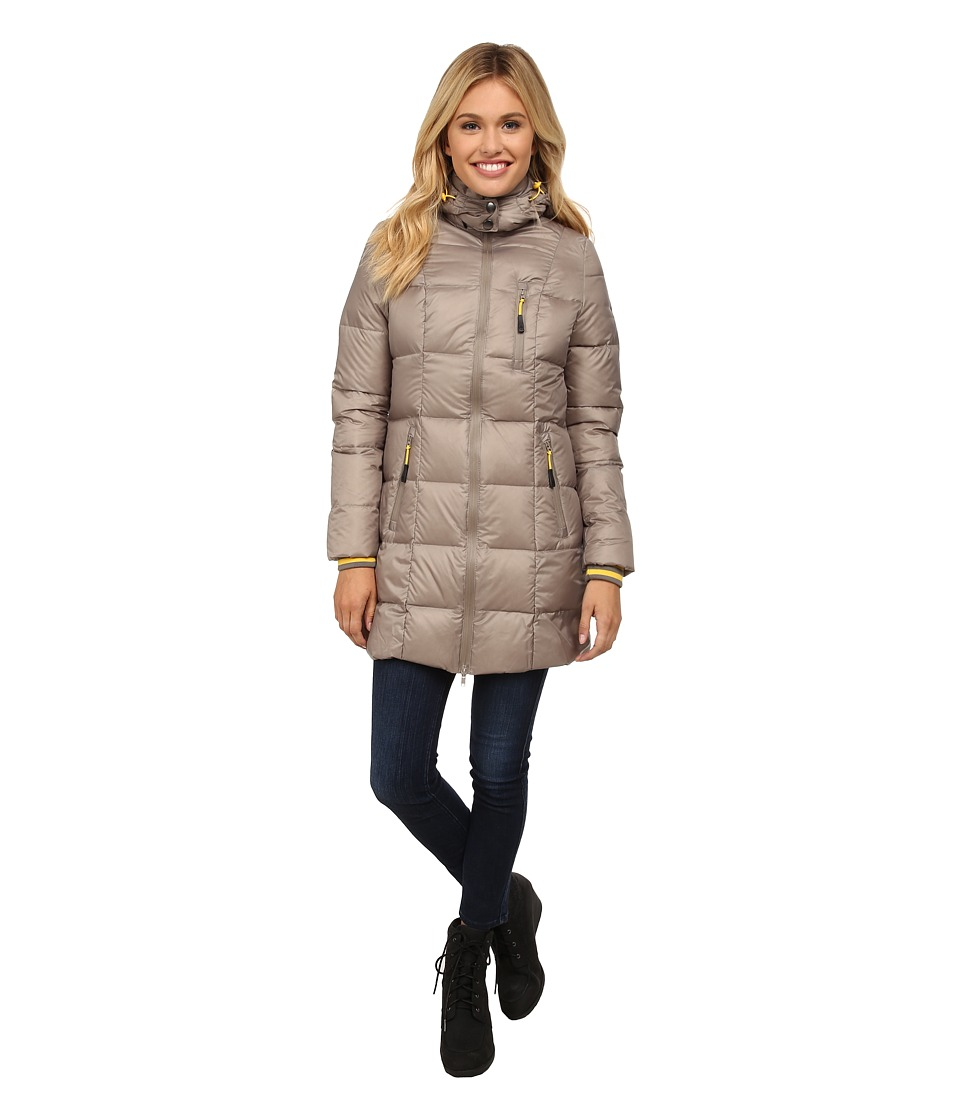 Khombu - Down Parka (Moon Rock) Women's Coat