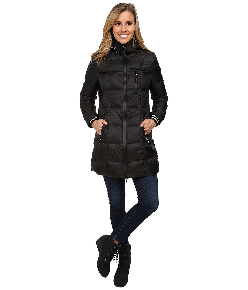 Khombu - Down Parka (Jet Black) Women's Coat