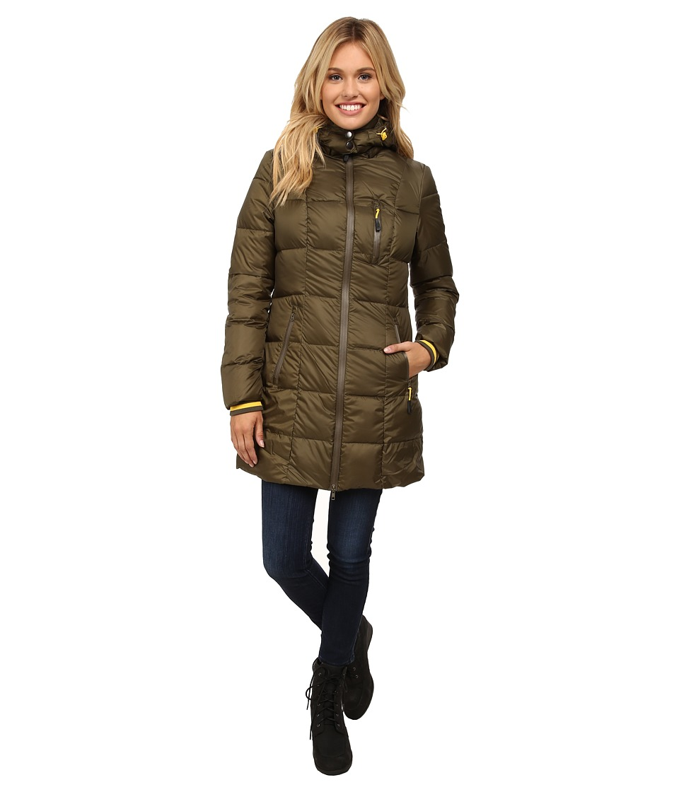 Khombu - Down Parka (Ivy Green) Women's Coat