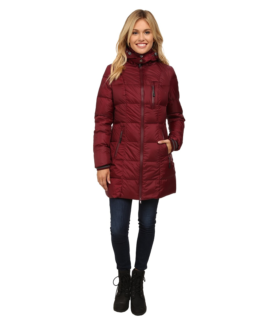 Khombu - Down Parka (Tawny Port) Women's Coat
