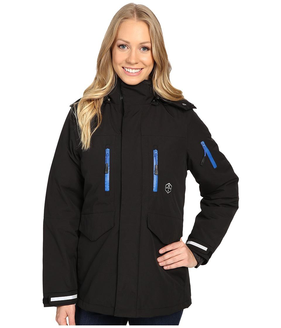 Khombu - Tri Season Jacket (Jet Black) Women's Coat