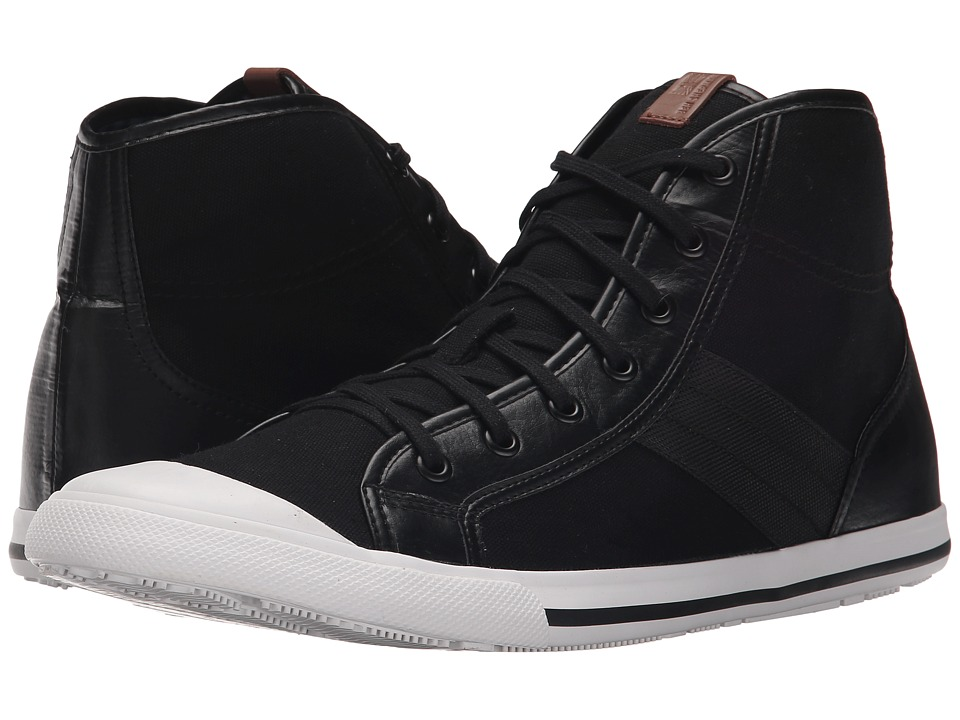 Ben Sherman - Eddie Hi (Jet Black) Men's Shoes