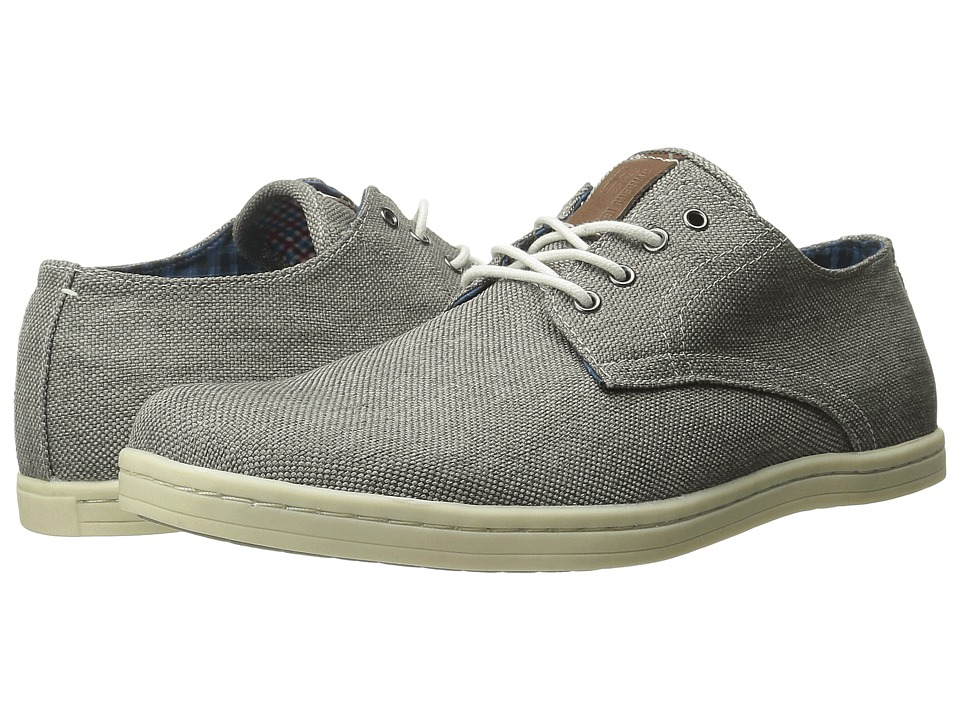 Ben Sherman - Parnell Oxford (Grey Linen) Men's Lace up casual Shoes