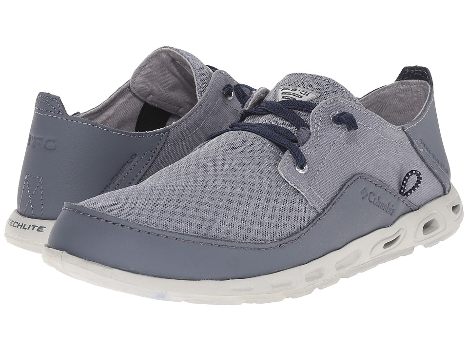 Columbia - Bahamatm Vent Relaxed Marlin PFG (Grey Ash/Collegiate Navy) Men's Shoes
