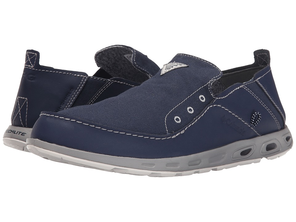 Columbia - Bahamatm Vent PFG (Nocturnal/Columbia Grey) Men's Slip on Shoes