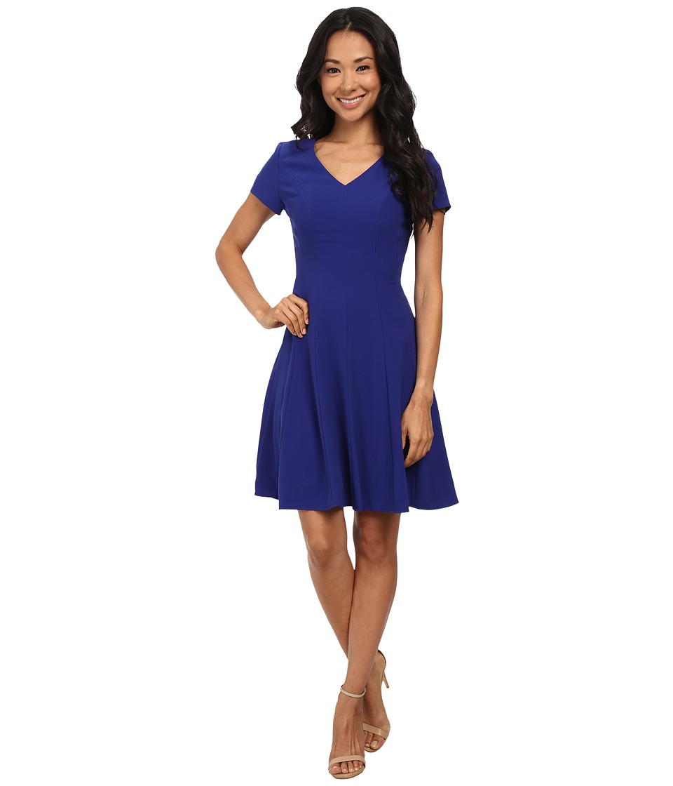 Tahari by ASL - Matt - P Dress (Royal) Women's Dress