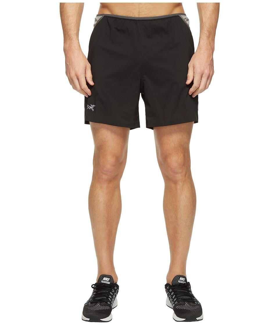 Arc'teryx - Soleus Shorts (Black) Men's Shorts