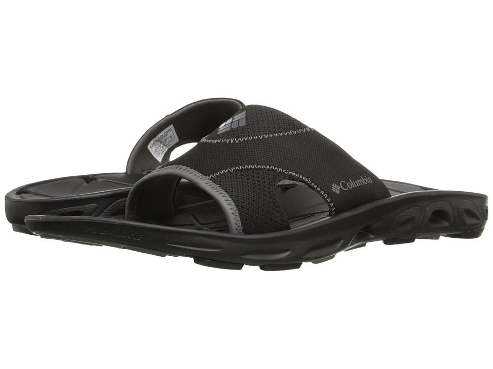 Columbia - Techsun Vent Slide (Black/Charcoal) Men