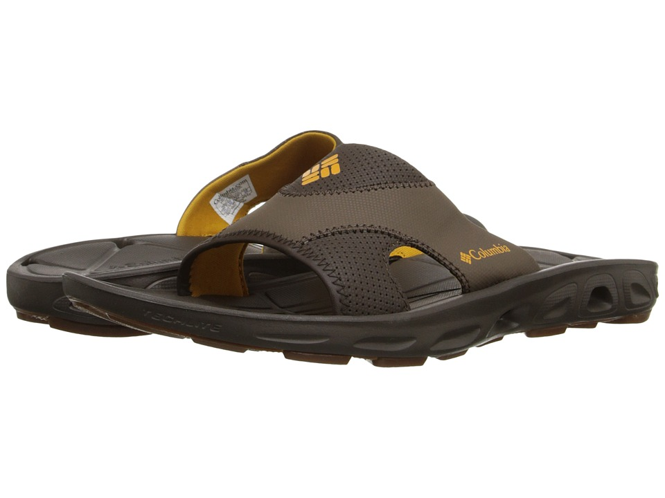 Columbia - Techsun Vent Slide (Cordovan/Squash) Men's Sandals