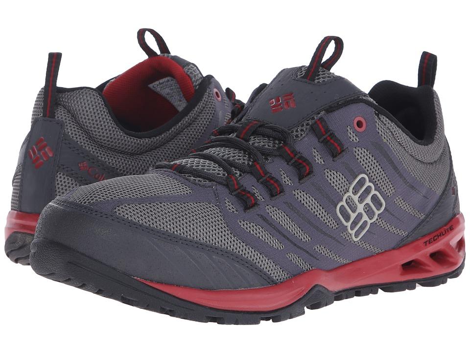 Columbia - Ventrailia Razor (Charcoal/Red Dahlia) Men's Shoes