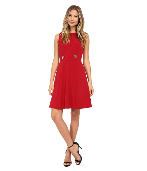 Tahari by ASL - Hanson - Q Dress (Red) Women's Dress